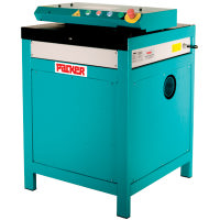 Three phase carton shredder